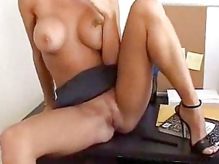 blond d like to fuck sucks wang in the office