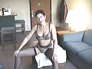 excited mother i hoe posing in hot underware
