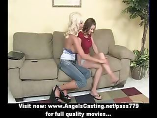 blond lesbo d like to fuck and juvenile