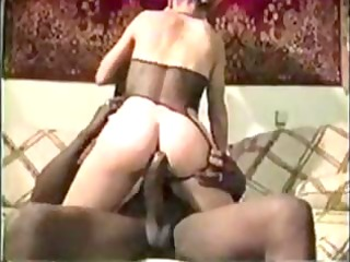 golden-haired d like to fuck vintage interracial