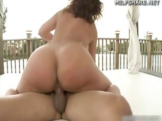 mother i pornstar bella rides knob