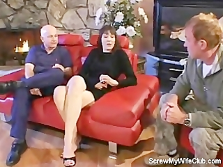 spouse can not stand wife screwing a stranger!