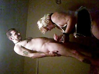 milf sucking young guy cock in  motel