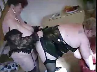 one granny copulates one more granny