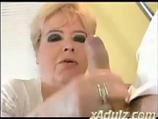 chunky big beautiful woman granny copulates her