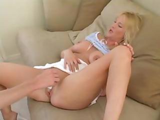 sexy golden-haired mother i sucks a lengthy jock