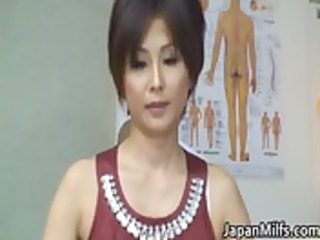 oriental milf has massage and fucking