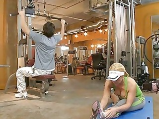 lusty workout with hawt d like to fuck