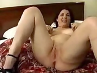 older wife acquire her creampie with 9 strangers