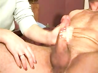 my wife giving tugjob