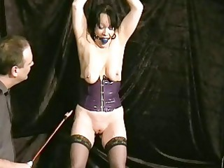 crying aged slavegirl chinas ballgagged electro