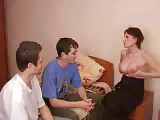 preggo brunette mother i receives screwed