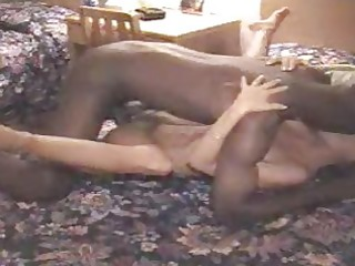 cuckold wife takes a bulky darksome cock!