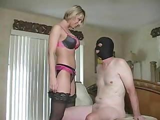 femdom wife cuckolds hubby