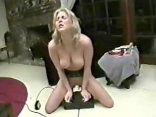 Intense sybian screaming wife