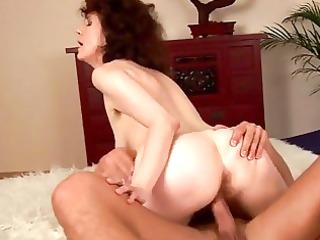 wild wang gobbling brunette d like to fuck in act
