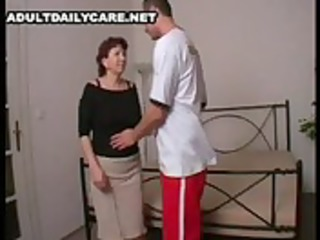 hawt mamma 20 redhead aged with a juvenile man