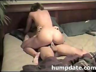 sexy dark brown d like to fuck rides her husbands