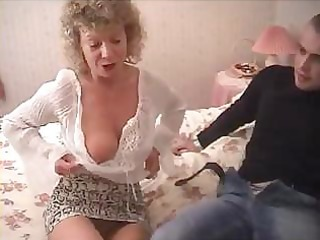 british granny goes completely eager and tries to