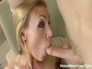tanya tate is a older blonde who receives a
