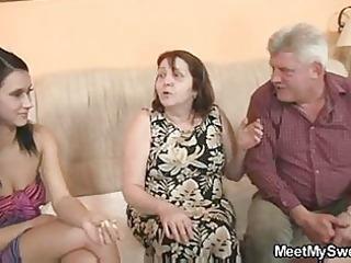 blameless gal is enticed by her boyfriends mommy
