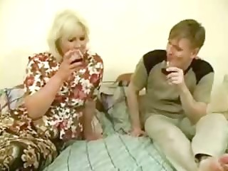 big drunk mamma acquires drilled by legal age