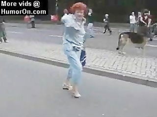 walk it is out granny