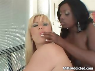 golden-haired sex bomb and breasty ebon d like to