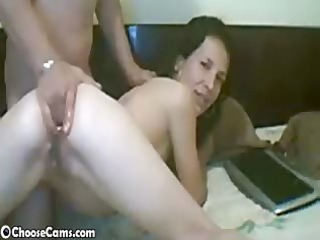 web camera wife receives a-hole fisted
