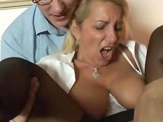 sexy golden-haired german older acquires old boyz