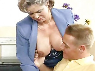 breasty mama receives screwed in the office