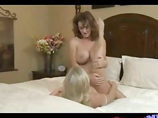 milfs acquire naughty with every other