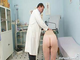 older ruzena gyno fetish clinic doctor visit