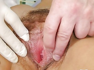 fuckable brunette hair granny acquires her hairy