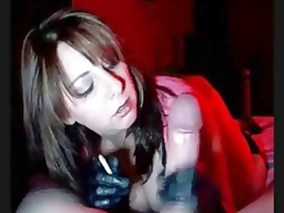 hawt d like to fuck in gloves smokin jerking and
