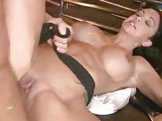 breasty momma jewels widen her legs getting