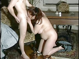 sexy mom n74 dark brown aged with a youthful stud