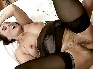 hot unshaved granny getting fucked nice-looking