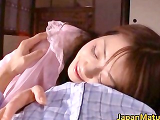 lustful japanese aged sweethearts engulfing part5