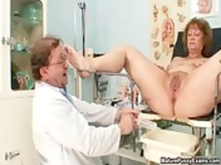 indecent doctor fucking his mature patient