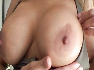 hawt ass mother i in bikini with massive hooters