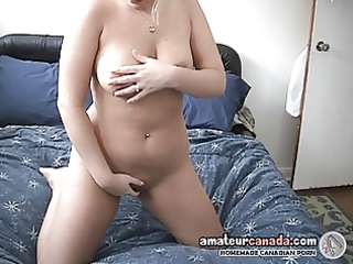 freckled large boob wife acquires fingers juicy
