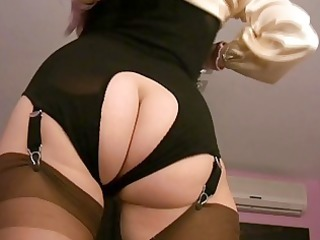 milf babes in nylons in softcore sexiness